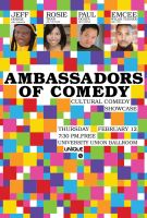 AMBASSADORS OF COMEDY poster by kenji2030