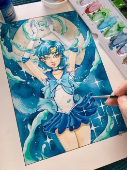Sailor Mercury by LeFay00