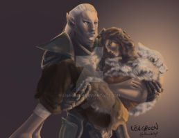 ESO Aloucia and Morzan by LisaGreen