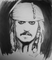 Jack Sparrow by twisted-mouse
