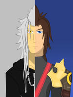 Xemnas and Terra by Dan-Shattered-Heart