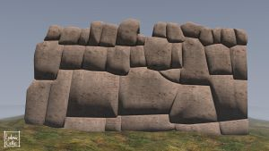 Blender WIP - Mur Inca 02-01 by Ludo38