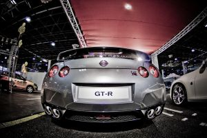 Nissan GT-R Back by miki3d
