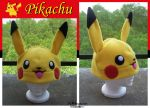 Pikachu Hat - $45 by Kai45