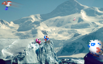 RetroMountain 'Ice Climbers' by RETROnoob