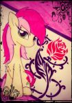 A rose tattoo by Kaboderp-sketchy