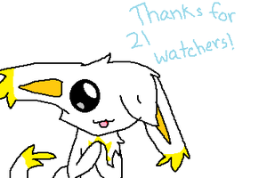 THANKS FOR 21 WATCHERS!! by kanakagirl