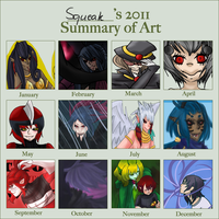 2011 art summary by komatana