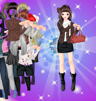 Relaxed Shape - Dress up Game by willbeyou