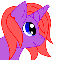 lol another attempt at a pony by GliitchingTengu