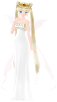 Neo Queen Serenity by Floramy