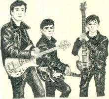 The Beatles by EldalinSkywalker
