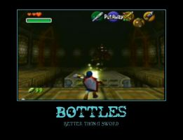 Bottles are awesome by Dbgtinfinite