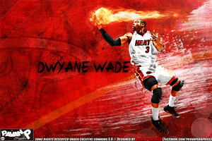Dwyane Wade Wallpaper by PavanPGraphics