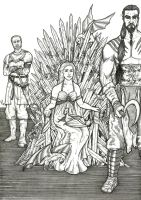 Queen of the Iron Throne by sebcarey