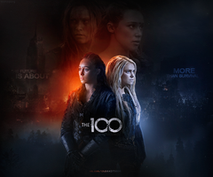 Lexa x Clarke | The 100 by monagory