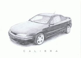 Opel Calibra by aangeel