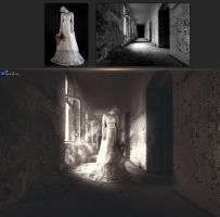 Before and After (Creepy Ghostly Woman 2013) by Hoangvanvan