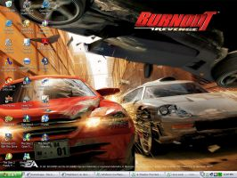 Burnout Revenge desktop by Mephiles12