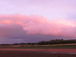 Cotton Candy Clouds by Adurnaa