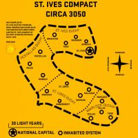 St. Ives Map (3050) by Viereth