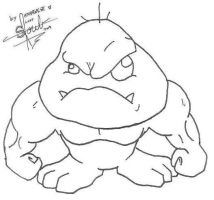 Mutant Goomba Boss-preview by athorment