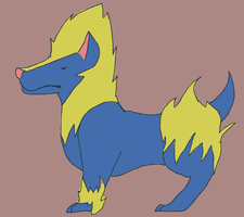 Manectric: WIP by dragontaxi