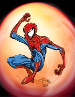 Spidey in the Spotlight by DW-DeathWisH