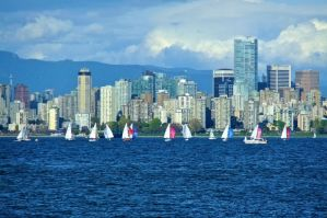 Spring Sailing in the City by WestSideofMidnight