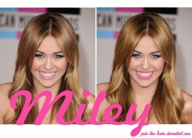 Miley Make up by Jade-the-lover