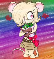 Knot the mouse [gift] by KazumiFox2