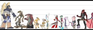 Volume 1 Scale Sheet by Dreamkeepers