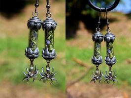 SOLD Deadly Nightshade Steampunk Jewelry #6 by DarcarinJewelry