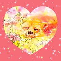 Valentine Fox Dreams of Spring by copper9lives