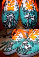 Shroom Shoes by CleverLittleAlex