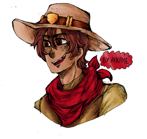 Overwatch - young Mccree by akkame