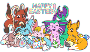 Happy Easter 2014 by Lo-Gi-Oh