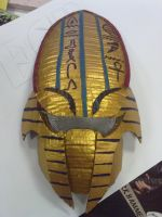 egyptian predator mask by Metallicade