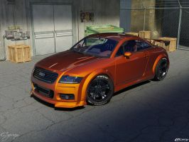 Audi TT tuned 4 by cipriany