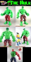 Custom MvsC Hulk Revisited by KyleRobinsonCustoms