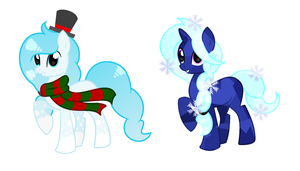 MLP Christmas Adopts [OTA CLOSED] by StarlightRaven14
