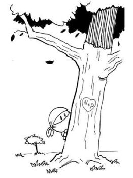 Daily Drawing 032 Ninja Tree by madscott