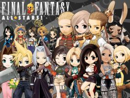 Final Fantasy All Stars by The-Lonely-Wolf
