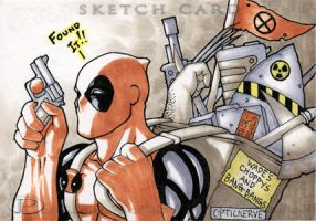 Marvel Premier - Deadpool by theopticnerve