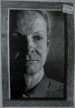 Paul Hudson-PortraitCompetitio by WJLACEY