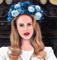 Lana del Rey-Creation Gif by crushtested