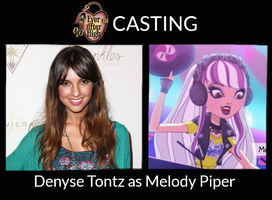 Denyse Tontz as Melody Piper - EAH Live-Action by ThunderFists1988