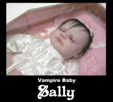 Vampire baby Sally by Little-Psycho-Lilith