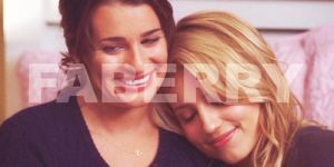 Faberry Snuggling Banner by JewelOfSong