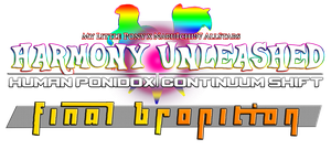 Harmony Unleashed HPCS Final Bronition Logo by AaronMon97
